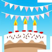 Happy Birthday Camera icon