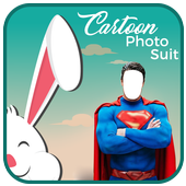 Cartoon Dress Photo Suit icon