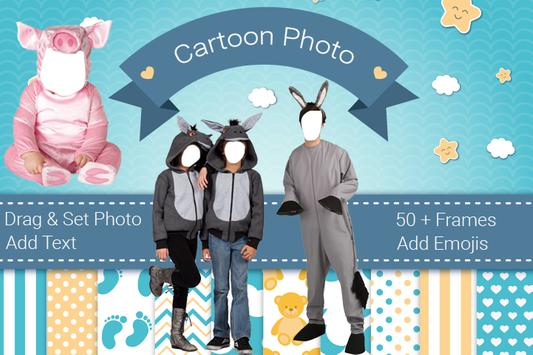 Cartoon Dress Photo Suit poster