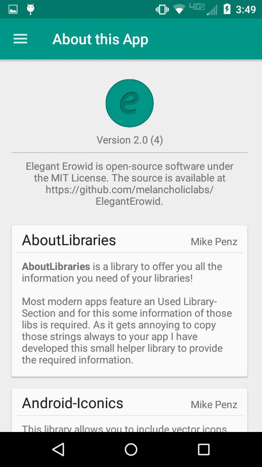 Elegant Erowid for Android - APK Download