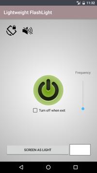 Flashlight lightweight screenshot 1