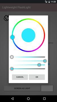 Flashlight lightweight screenshot 2