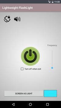 Flashlight lightweight screenshot 3