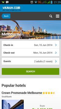 Melbourne Hotels Comparison poster
