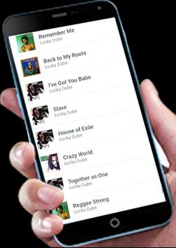 Lucky Dube Raggae Songs apk screenshot