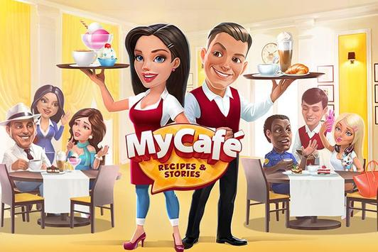My Cafe: Recipes & Stories - World Cooking Game poster