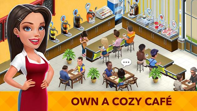 我的咖啡厅 - 世界餐厅游戏 海報