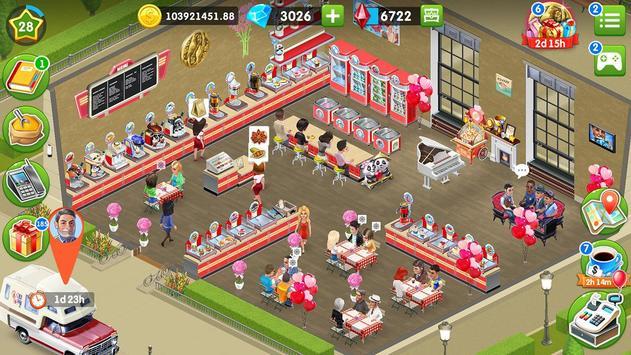 我的咖啡厅 - 世界餐厅游戏 截圖 17