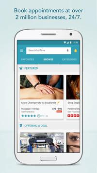 MyTime: Appointments Made Easy poster