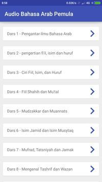 Audio Bahasa Arab Pemula poster