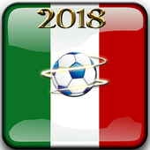 Mexico In The World Cup Russia 2018 Group And Team icon