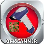 QR Scanner-Recorder-Scanner-Directory Allt i ett icon