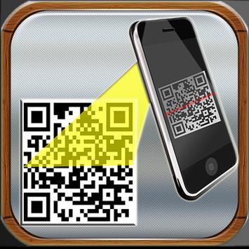 QR Scanner-Recorder-Scanner-Directory Allt i ett poster