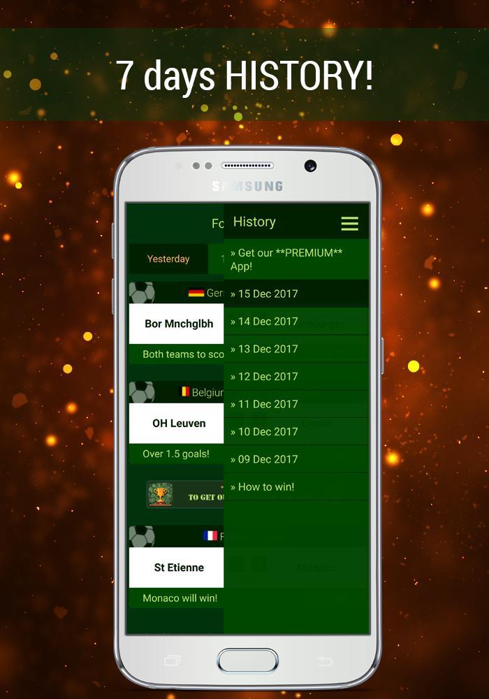 Wetten Tipps Kostenlose Fussball Tipps Heute Fur Android