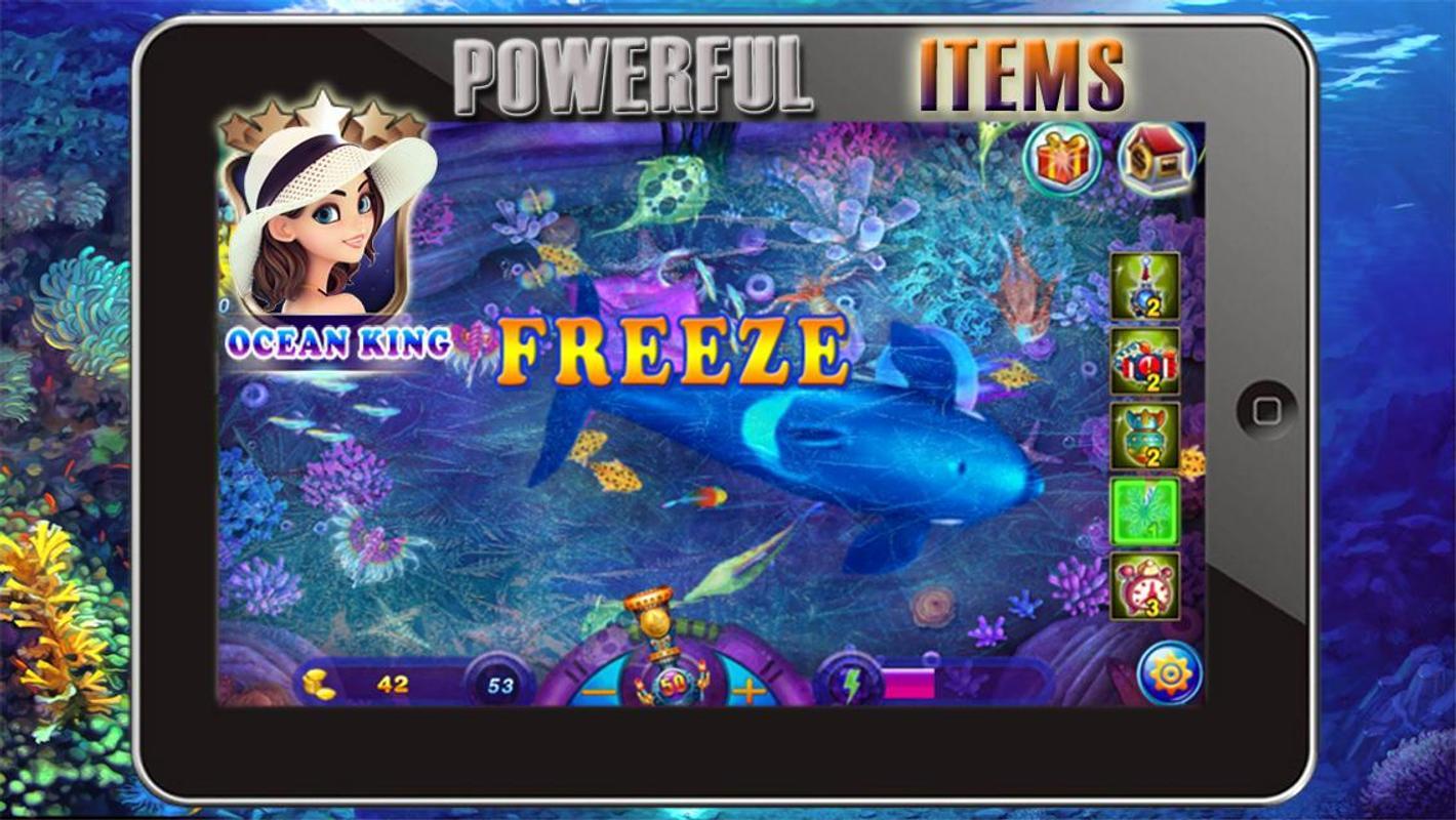 Ocean fish king apk download free arcade game for for Ocean king fish game