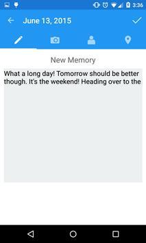 Memoria (Journal, Memo, Diary) apk screenshot