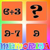 Igra memorije sa matematikom icon
