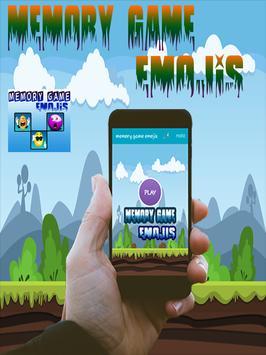 Memory Game Emojis poster