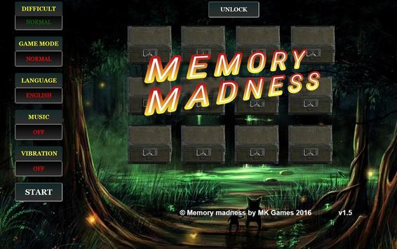 Memory Madness poster