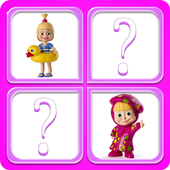 Memory Masha Girl Toys icon