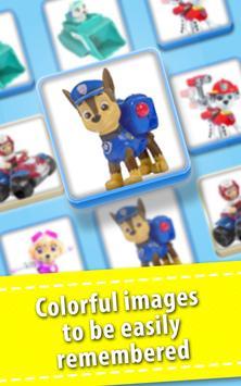 Memory Toys Paw Kids screenshot 1
