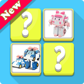 Memory Kids Robocar Toys icon