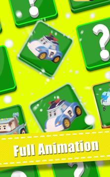 Memory Kids Robocar Toys poster