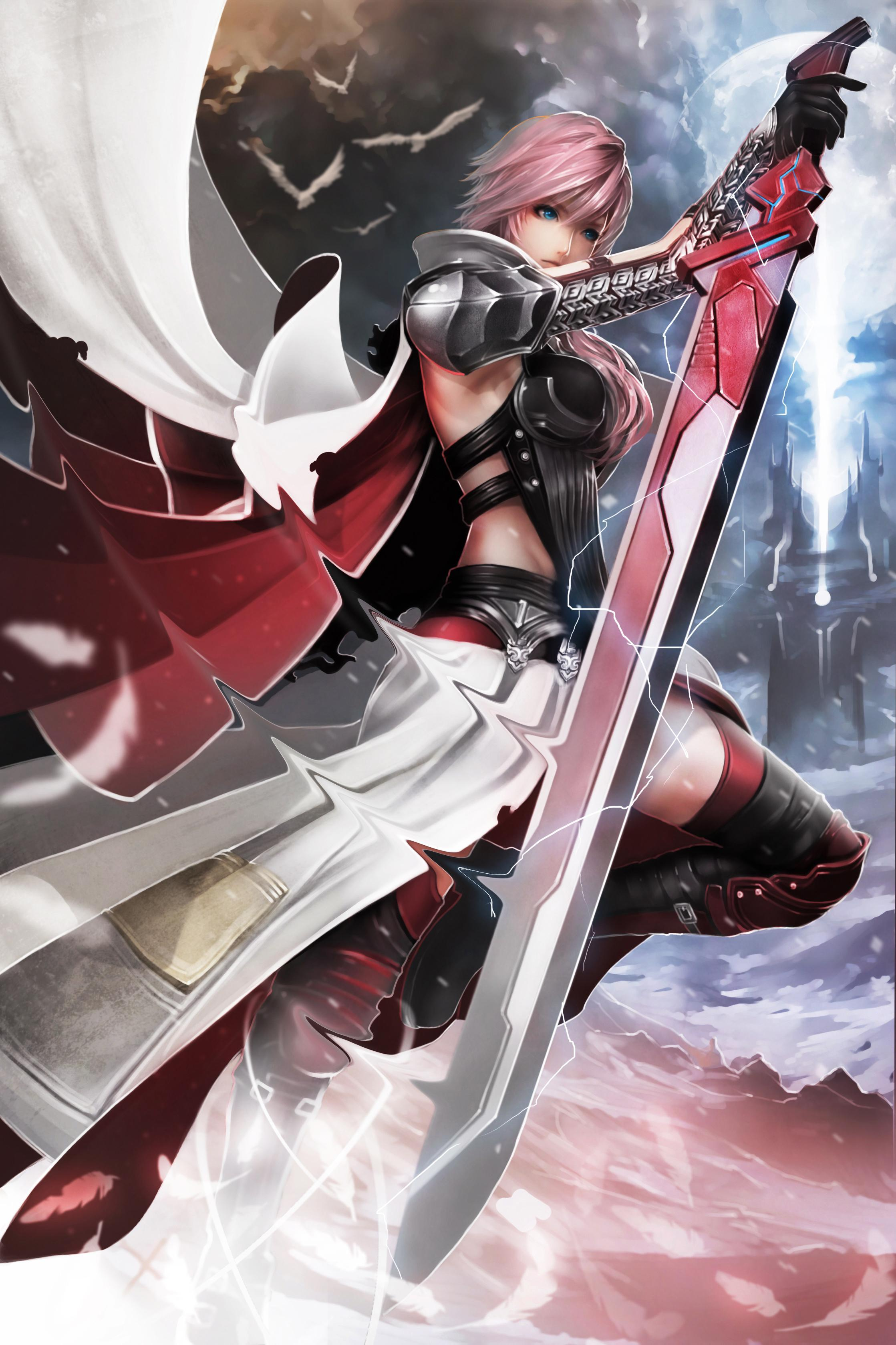 Lightning Final Fantasy Wallpaper Art For Android APK Download