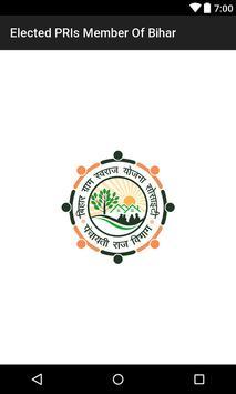 PRI Member of Bihar poster