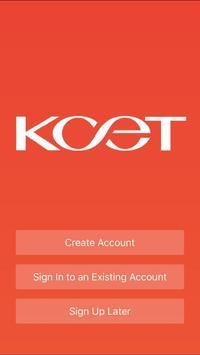 KCET poster