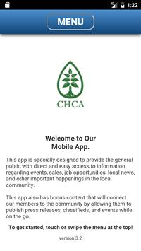 Chestnut Hill Community Association Mobile App poster
