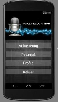 Voice Recognition Aceh poster