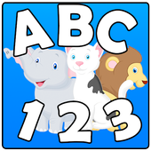 Kids: Animals Letters Numbers icon