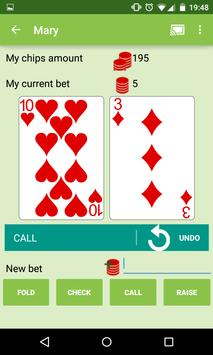 PokerCast apk screenshot