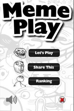 Meme Play Free poster