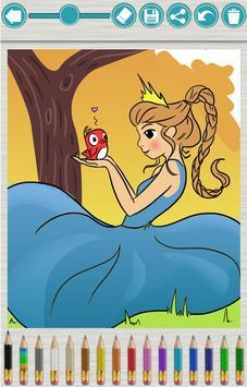 Magic Princesses Coloring Book apk screenshot