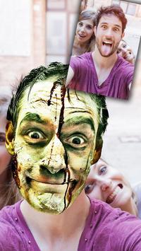 Cut paste Halloween editor poster