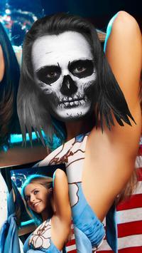 Cut paste Halloween editor apk screenshot