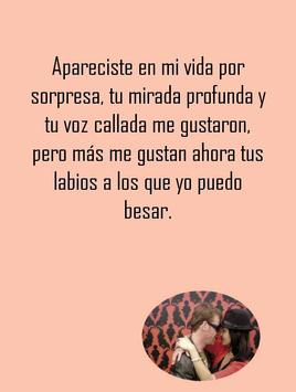 Love quotes in Spanish poster