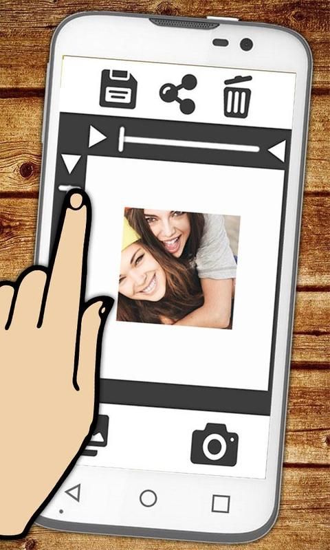 White frame for Insta photos APK Download - Free Tools APP for ...