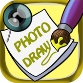 Sticky draw on photos icon
