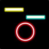 Circle glow icon
