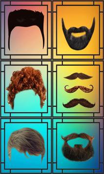 men beard and hair : photo editor screenshot 1
