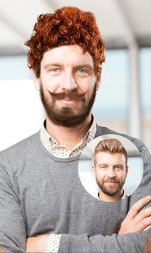 men beard and hair : photo editor screenshot 4