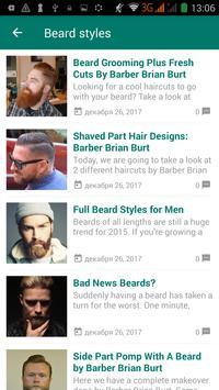 Men hairstyle and haircut screenshot 2