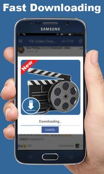 Video downloader for Facebook apk screenshot