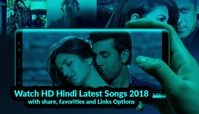 Bollywood Romantic Songs - New Hindi Video Songs for Android