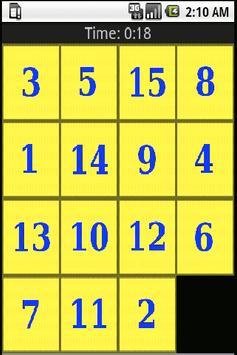 Sliding Tiles screenshot 1