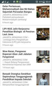 Kabar Berita Terpercaya Menara62 screenshot 2
