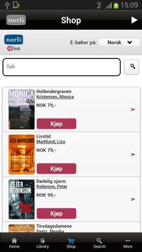 Norli eBook apk screenshot